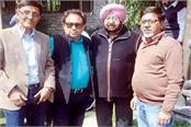 cm of punjab arrived in himachal pradesh moments spent with friends