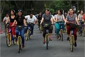 lpu is india s first bicycle friendly university