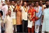 anju rani became the president of julana municipality vijay kumar vice president