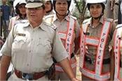 first lady police rider posted in rewari