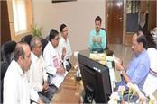 delegation of vanvasi kalyan kendra meets cm