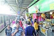 food stalls will open at 40 small stations