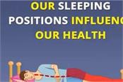 our sleeping positions influence our health