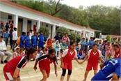 300 students of 19 schools participating in sports competition