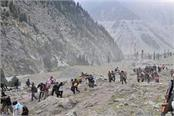 amarnath yatra himam shivling police security force