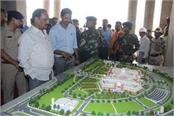 cm inspected colony formed for displaced persons