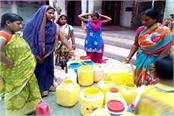 people suffering from water shortages