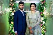 india no 2 harika dronavalli gets engaged to karteek chandra
