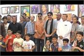 gangaajal fame yashpal sharma reached sirsa inaugurated painting exhibition