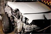 liquor smuggler car collided with divider driver absconded