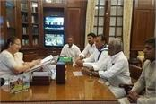 lok sabha speaker accepts resignation of five mps of ysr congress