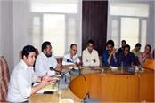additional dc said in workshop administration to tackle dengue