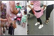 chinese police dressed in the streets of muslim women pics