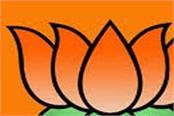 bjp has given big responsibility to 4 ministers