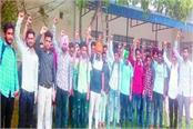 rally expelled by fierce assault on umar khalid