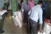despite the notices the construction of polythene from