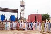 waterlogging of village bhagsar people upset for 6 days