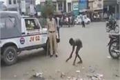police constable gets heavy boggling from a minor milliseconds punishment
