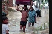 kanpur floods affected common life flood victims sending trains with help