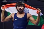 asian games 2018 wrestler bajrang poonia wins first gold