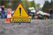 2 motorcycle collision in phagwara 5 pilgrims injured