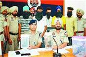 lootera gang firing police 5 arrested