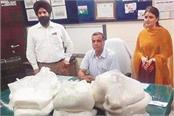 health department filled samples cheese milk powder