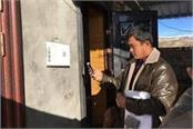china installing qr code outside uighur muslim s home