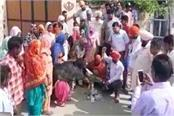 the anger against the government by blowing copies of electricity bills