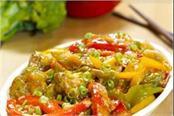crispy veg with hot garlic sauce