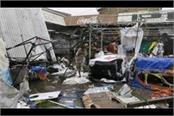 singapore typhoon mangkhut threatens hong kong after killing 25