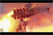 ravan s ban on burning effigies