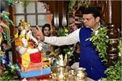maharashtra chief minister bhagwan ganesh need no dj