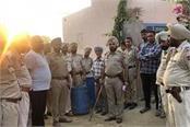 police seized huge amount of illegal liquor