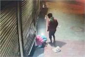 burglars steal cash by uprooting shop shutter