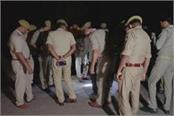 criminals shoot police inspector in jhansi
