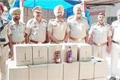 200 boxes of alcohol recovered
