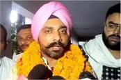 congress candidate sought votes from ramlila s platform