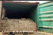 another liquor stockpile caught before the election truck driver absconding