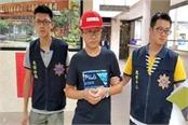 taiwan expels chinese tourist for damaging  lennon wall