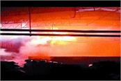 factory fire due to unknown reasons burning goods worth lakhs of rupees