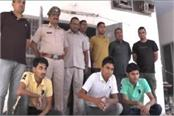 karnal police gets great success gang leader arrested along with colleagues