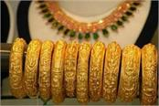 slight rise in gold silver slipped by 500 rupees