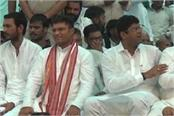 tanwar said there is a fight between jjp and the khalnayak janata party