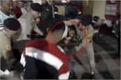 clash between hindu jagran manch and police