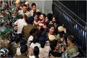 jnu students protest march till parliament
