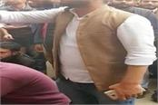 lucknow university paper leak case demand to meet student vc sitting on protest