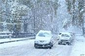 shimla manali snowfall warning