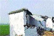 illegal construction collapsed in palwal s bamnikheda