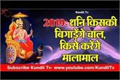 2019 shani dev and zodiacs